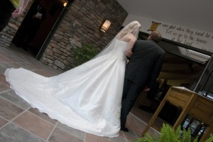 Bride & Dad - Wedding Day Photography