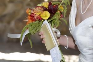Bride Flowers & Bible - Photojournalistic Wedding Photography