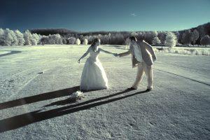 Romantic Infrared Wedding Photography