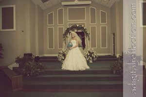 Tabatha & Evan were married at Hartselle First Assembly of God. Professional wedding photography by Birmingham Professional Wedding Photographers