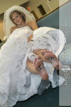 #Bride Getting Ready